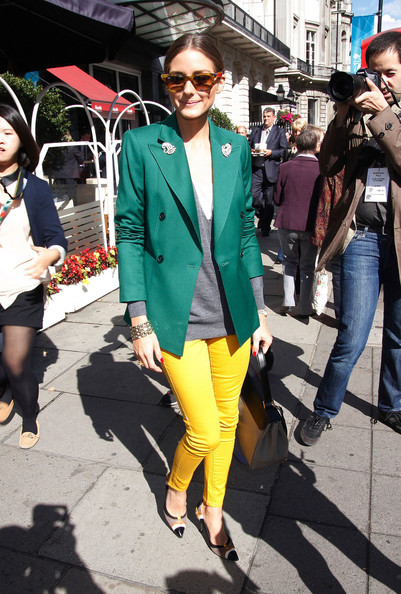 More Pics of Olivia Palermo Wayfarer Sunglasses (1 of 8) - Olivia Palermo Lookbook - StyleBistro