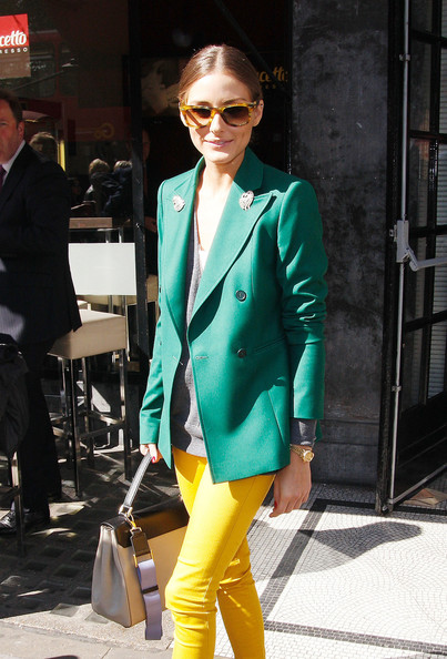 More Pics of Olivia Palermo Wayfarer Sunglasses (2 of 8) - Olivia Palermo Lookbook - StyleBistro
