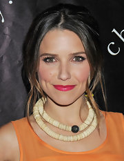Sophia Bush wore a stunning fuchsia lipstick with loads of shimmer at the 6th Annual Charity Ball.