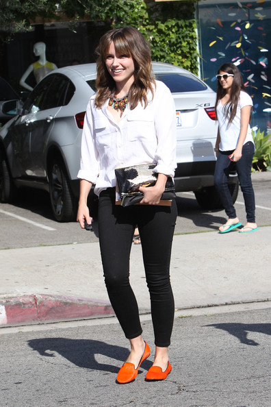 More Pics of Sophia Bush Skinny Pants (5 of 8) - Sophia Bush Lookbook - StyleBistro