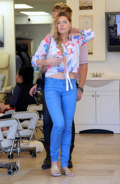 Sophie Monk Button Down Shirt