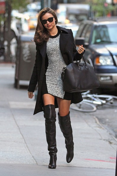 She Rocks Thigh-High Boots Without Looking Like a Street-Walker