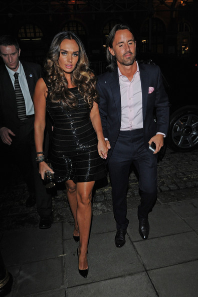 Tamara Ecclestone Little Black Dress