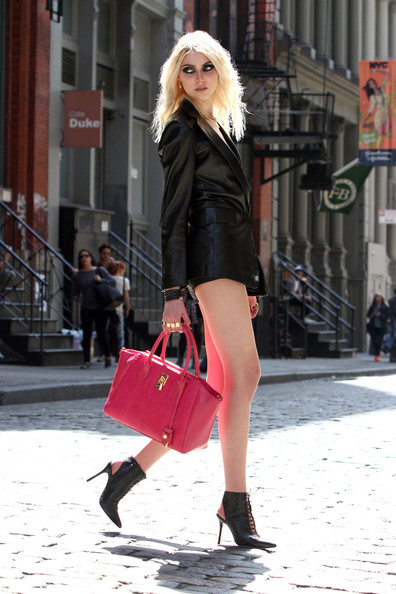 More Pics of Taylor Momsen Ankle Boots (4 of 27) - Shoes Lookbook - StyleBistro