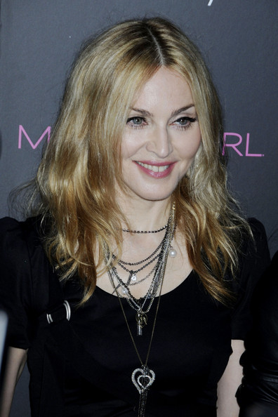 Madonna's Shoulder-Length Hairstyle