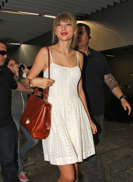 Taylor Swift Leather Shoulder Bag