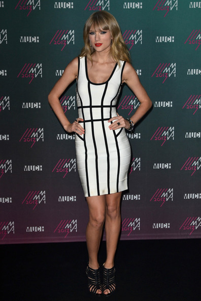 More Pics of Taylor Swift Bandage Dress (2 of 14) - Taylor Swift Lookbook - StyleBistro