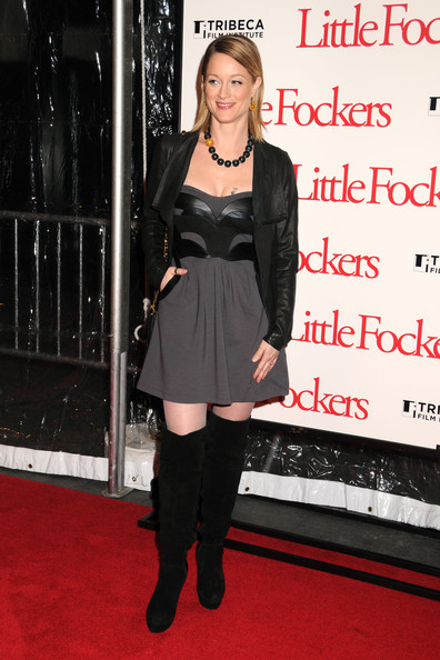 Teri Polo Over the Knee Boots
