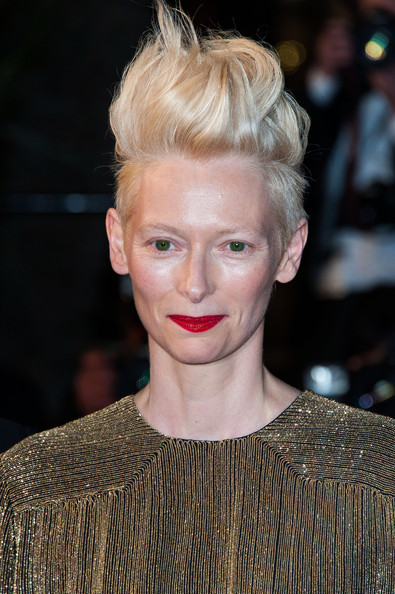 Tilda Swinton Red Lipstick