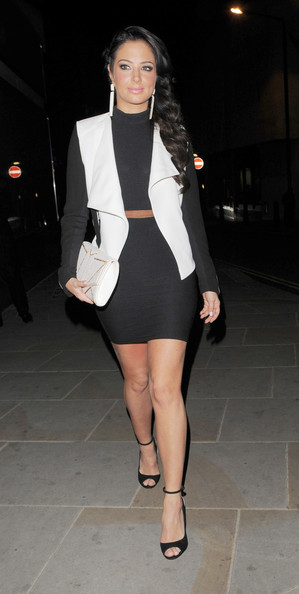 Tulisa Contostavlos Mini Skirt