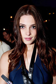 Ashley Greene wore a lovely berry stain on her lips while promoting 'Breaking Dawn' in Paris.