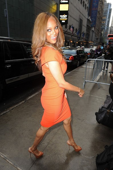 Tyra Banks High Heels