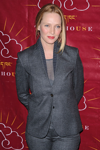 More Pics of Uma Thurman Pantsuit (4 of 18) - Uma Thurman Lookbook - StyleBistro