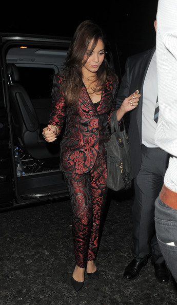 More Pics of Vanessa Hudgens Pantsuit (1 of 29) - Vanessa Hudgens Lookbook - StyleBistro