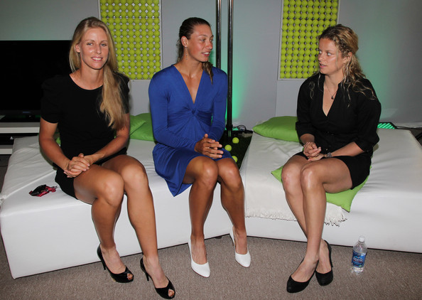 Venus and Serena Williams at the WTA Players Awards Ceremony
