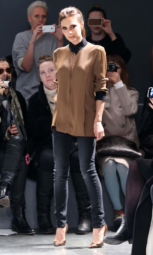 Victoria Beckham Shows at New York Fashion Week