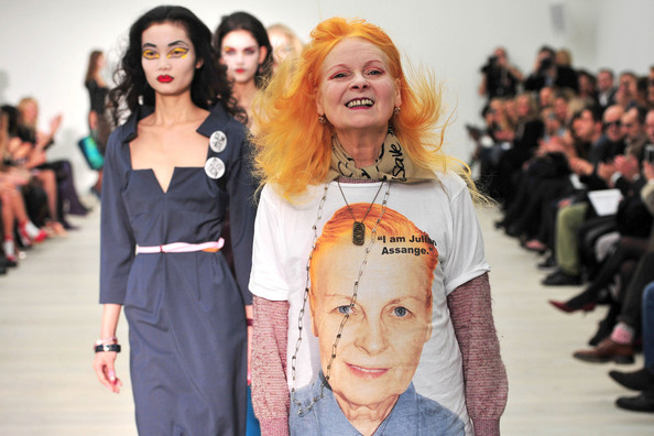 Stars at the Vivienne Westwood Autumn/Winter Show