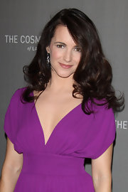 Kristin Davis showed off her long luscious locks on NYE.