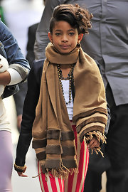 Willow showed off major attitude while hitting the streets of NYC. With a hair cut like this we can certainly see why.