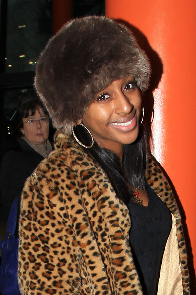 More Pics of Alexandra Burke Fur Hat (1 of 7) - Alexandra Burke Lookbook - StyleBistro
