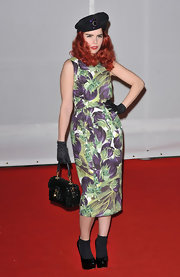 Paloma Faith wore this radish print dress to the Brit Awards.