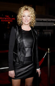 Virgina Madsen showed off soft ringlet curls while attending 'The Fighter' premiere.