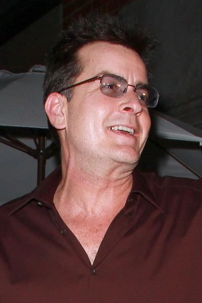 More Pics of Charlie Sheen Button Down Shirt (8 of 21) - Charlie Sheen Lookbook - StyleBistro []