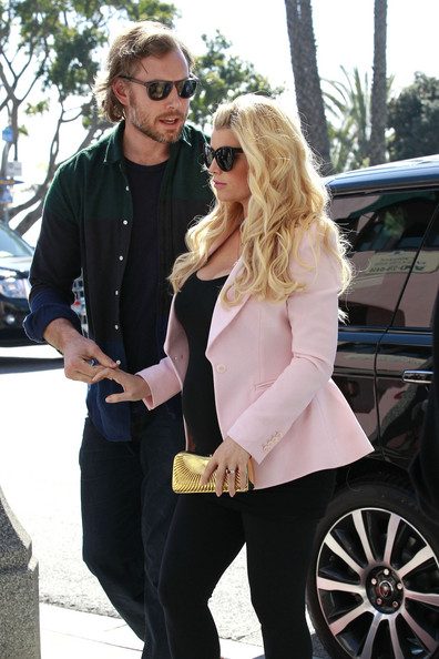 More Pics of Jessica Simpson Blazer (1 of 11) - Jessica Simpson Lookbook - StyleBistro