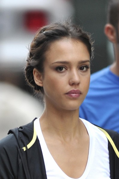 Jessica Alba Hair Braid