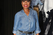 Jennifer Hudson Denim Shirt
