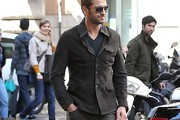 Gerard Butler Fitted Jacket
