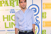Zachary Quinto Button Down Shirt