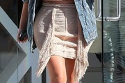 Kim Kardashian Mini Skirt
