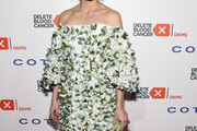 Olivia Palermo Off-the-Shoulder Dress