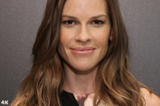 Hilary Swank Long Wavy Cut