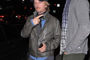 David Spade Leather Jacket