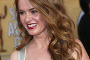 Isla Fisher Long Wavy Cut