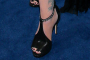 Christina Applegate Peep Toe Pumps