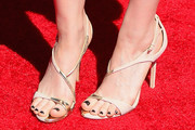 Kate Mara Strappy Sandals