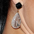 Adriana Lima Jewelry - Dangling Gemstone Earrings