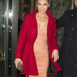 Adrianne Palicki Clothes - Wool Coat