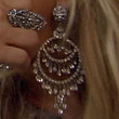 Adrienne Maloof Jewelry - Crystal Chandelier Earrings