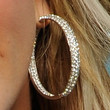Adrienne Maloof Jewelry - Diamond Hoops