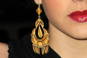 Aimee Teagarden Gold Chandelier Earrings