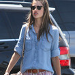 Alessandra Ambrosio Clothes - Denim Shirt