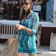 Alessandra Ambrosio Print Dress