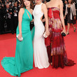 Alessandra Mastronardi One Shoulder Dress