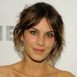 Alexa Chung Hair - Half Up Half Down