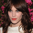 Alexa Chung Hair - Long Wavy Cut with Bangs