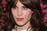 Alexa Chung Long Wavy Cut with Bangs